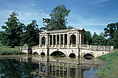 Stowe  - English Landscaped Garden, Buckinghamshire -  Palladian bridge - Buckinghamshire, UK - 37588-100-1