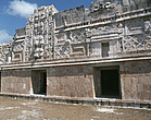 Uxmal, Yucatán, Mexico - One of the buildings of the Nunnery quadrangle - 23952-40-1