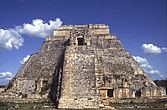 Uxmal, Yucatán, Mexico - Pyramid of the Magician - 23952-90-1
