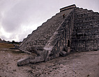 Chichen Itza, Yucatán, Mexico - The pyramid of Kukulcan - 23953-50-1