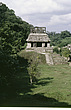 Palenque - Temple of the Sun and its courtyard  - 23954-20-1