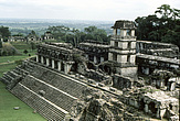 Palenque - The watchtower and the Great Palace - 23954-40-1