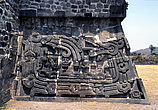 Xochicalco, Mexico - Temple of the Feathered Serpent at the fortified hilltop city in the central highlands - 23957-30-1