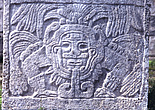 Tenochtlitlan, Mexico City - Relief depiction of the Aztec deity Quetzalcoatl - 23959-180-1