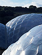 Eden Project, Bodelva, St Austell, Cornwall - detail of the biomes - 10212-30-1