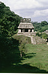 Palenque, Mexico - Palenque, Mexico - View of the Temple of the Sun  and its courtyard - 23954-70-1