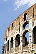 Upper tier at the Colosseum, Rome, Italy - 12035-90-1
