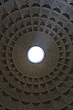 The hole in the dome at The Pantheon, Rome, Italy - 12036-30-1