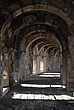 Interior arches of corridor at the Roman Amphitheatre, Aspendos, Turkey - 10644-130-1
