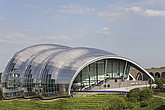 The Sage Gateshead (RIBA Inclusive Design Award) seen from west, Newcastle Gateshead, UK - 31876-140-1