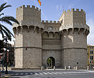 The 14th Century Town Gate, Serranos Towers, Valencia - 12548-10-1