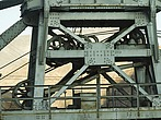 Winch wheels on old crane at Hoover Dam - 12598-370-1