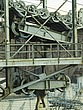 Detail of old drive wheels and crane, Hoover Dam - 12598-380-1