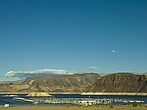 Las Vegas Boat harbor, Lake Mead National Recreation area, from Highway 166 - 12598-460-1