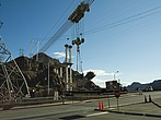 Overhead cable crane operating to lift parts at the Hoover Dam - 12598-90-1