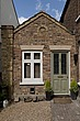 Front door of single storey extension, Victorian semi-detached house, Kingston upon Thames, England, UK - 12652-40-1