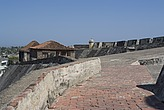 Fort San Felipe, originally built in the 17th century, Cartagena de Indias, Colombia - 12684-120-1