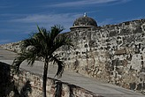 Part of 17th century city walls, Cartagena (de Indias), Colombia - 12684-30-1