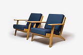 GE-290 Armchair, Danish, 1960s, manufactured by Getama - 12528-1330-1