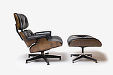 Eames Lounge Chair (670) and Ottoman (671), American, 1956, manufctured by Herman Miller - 12528-1460-1