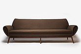Teardrop three seater Sofa, Danish, 1950s - 12528-1550-1