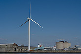 Windmills on the old docks west of Liverpool, Merseyside, England - 12790-110-1