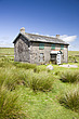 Nuns Cross Farm, an abandoned farm house now used as a lodge for adventure puirsuits enthusiasts, walkers and backpackers - 12878-20-1