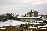 Dartmoor Prison in the snow, Dartmoor, Devon - 12878-30-1