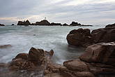 La Corbiere Lighthouse at night, designed by Sir John Coode, was Britain s first reinforced concrete lighthouse and was completed in 1874, the lightho... - 12881-40-1