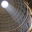 Shaft of sunlight through dome - 12907-20-1