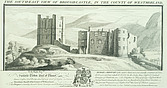 Brough Castle - South east view of Brough Castle in the county of Westmorland - 32139-20-1