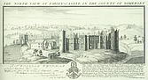 Farleigh Hungerford Castle - North view of Farley Castle in the county of Somerset - 32187-90-1
