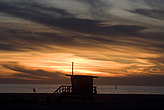 Sunset, Santa Monica beach - 12983-1020-1