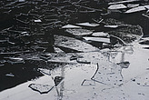 Ice covered canal, Lisson Wide, Maida Vale, London, UK - 12983-680-1