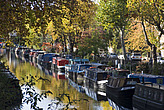 Canal boats and Autumn colours, Little Venice - 12983-700-1