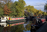 Canal boats, Little Venice - 12983-720-1