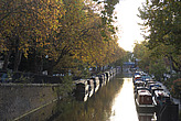 Canal boats and Autumn colours, Little Venice - 12983-760-1