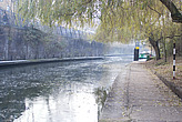 Broken ice on Regent's Canal - 12983-920-1