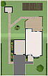 illustration house and garden site plan - 80002-10-1