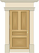illustration exterior door assembly - 80002-50-1