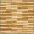 illustration wooden parquet  strip flooring with alternate joints - 80004-40-1