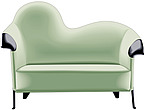 illustraton  meridienne sofa - 80005-130-1