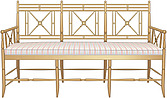 illustraton  wooden elegant banquette - 80005-220-1