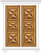 illustraton  wardrobe door - 80005-280-1