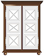 illustraton  wardrobe frame - 80005-290-1