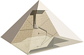illustration Egyptian pyramid - 80010-10-1