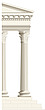 illustration Corinthian order column - 80010-50-1