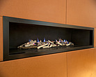 Modern slim fireplace, Addison Road - 12997-540-1