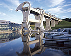 The Falkirk Wheel, Rough Castle, near Falkirk, Scotland - 11001-20-1