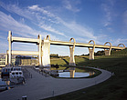 The Falkirk Wheel, Rough Castle, near Falkirk, Scotland - 11001-30-1